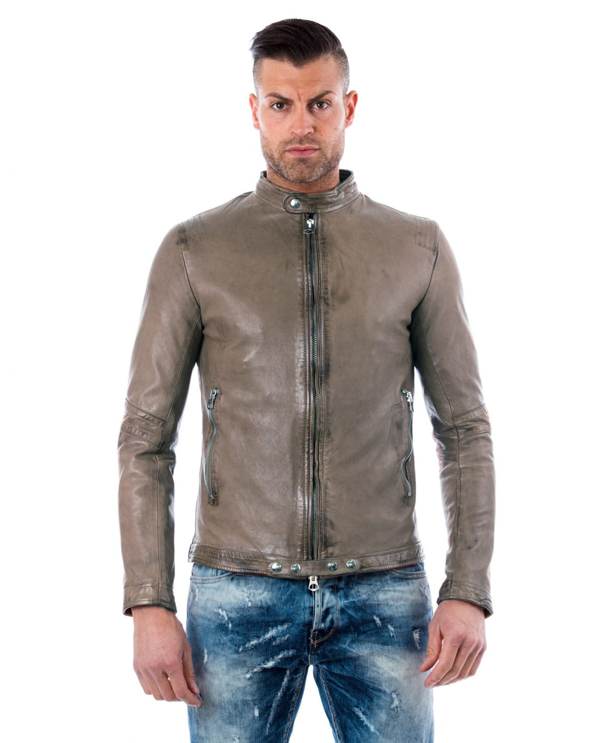888-grey-vintage-effect-lamb-leather-jacket
