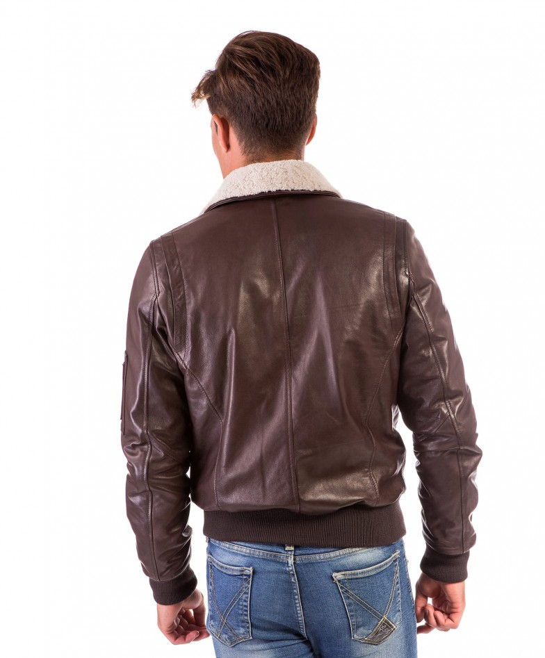aviator-dark-brown-colour-lamb-leather-bomber-jacket-shearling-collar (3)