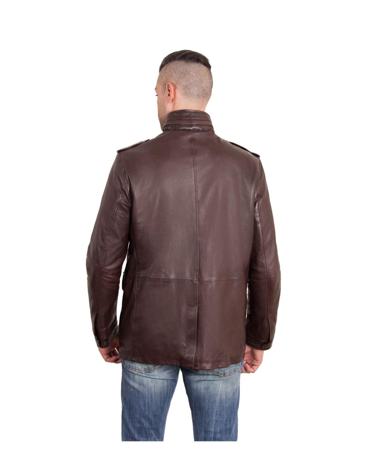 best-dark-brown-color-nappa-lamb-leather-jacket-4-pockets (3)