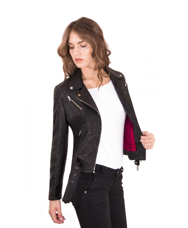 chiodo-in-pelle-da-donna-modello-biker-con-cintura-colore-nero-raggrinzito-chiodo-perfecto-collezione-donna-autunno-inverno- (1)