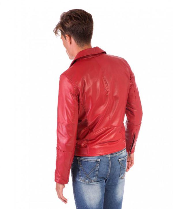 chiodo-in-pelle-uomo-modello-biker-chiodo-con-cerniera-trasversale-colore-rosso-perfecto (3)