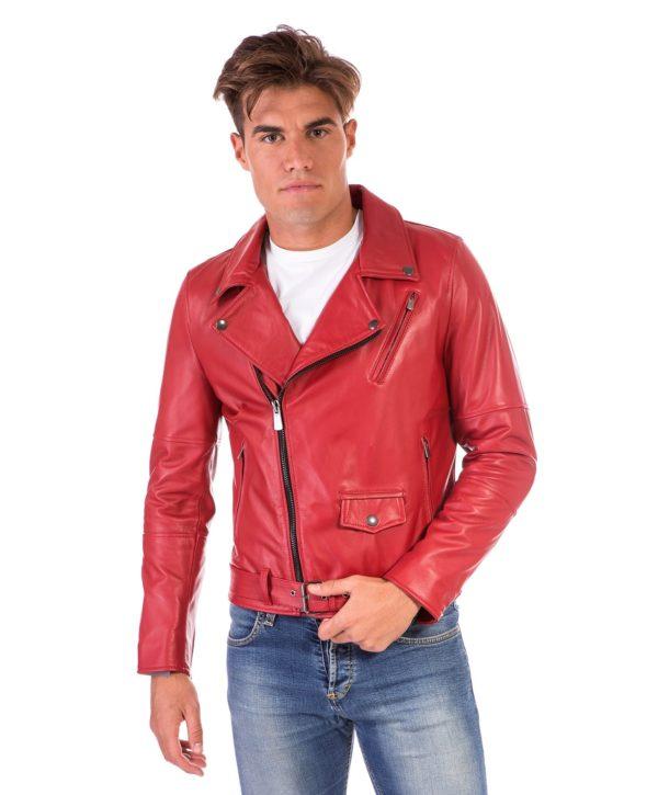chiodo-in-pelle-uomo-modello-biker-chiodo-con-cerniera-trasversale-colore-rosso-perfecto