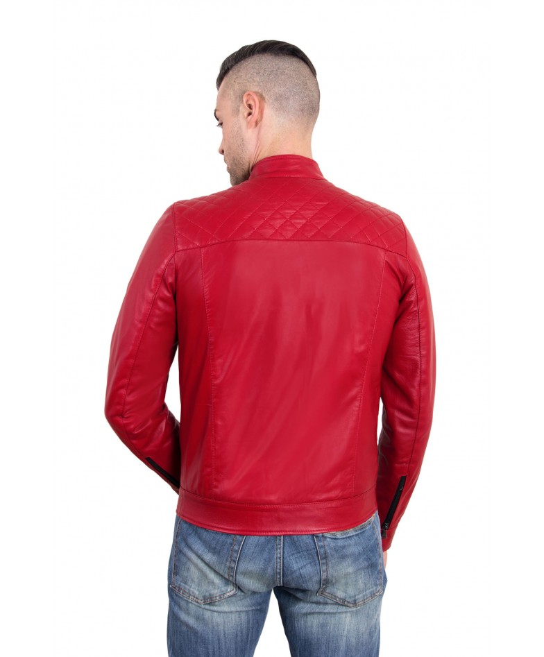 emiliany-trap-red-color-nappa-lamb-quilted-leather-biker-jacket (3)