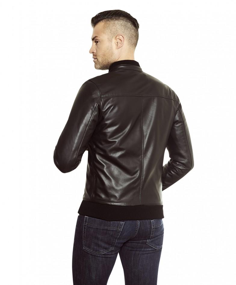 gaudi-black-colour-letaher-bomber-jacket-smooth-aspect (2)