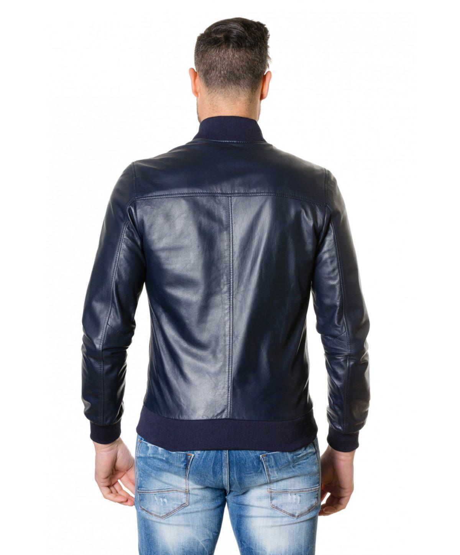 gaudil-blue-colour-letaher-bomber-jacket-smooth-aspect (2)