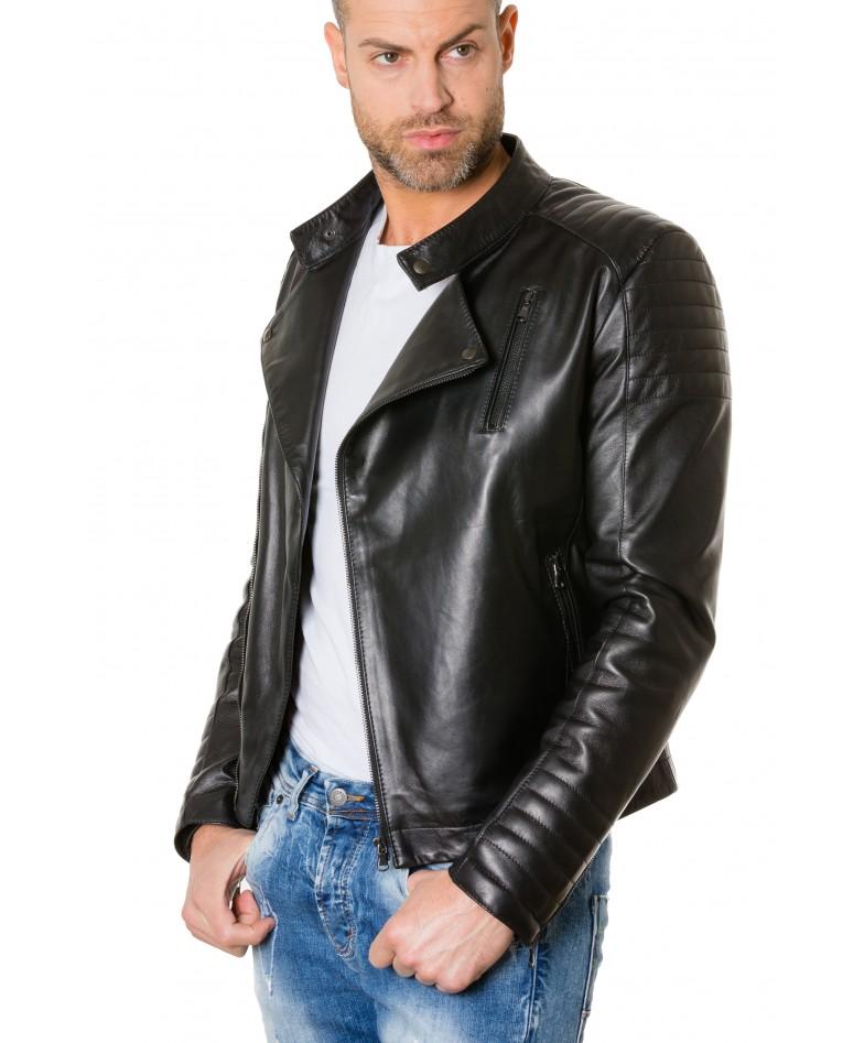 giacca-in-pelle-chiodo-trapuntata-da-uomo-vera-pelle-effetto-liscio-modello-biker-colore-nero-raniero (3)