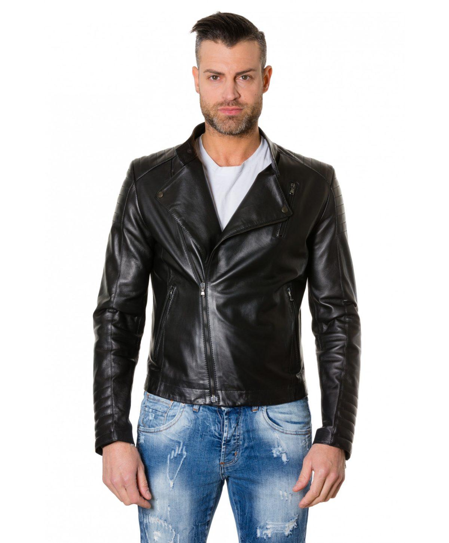 giacca-in-pelle-chiodo-trapuntata-da-uomo-vera-pelle-effetto-liscio-modello-biker-colore-nero-raniero (4)