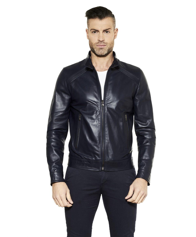 giacca-in-pelle-da-uomo-con-impunture-sulle-spalle-blu-emy-collezione-uomo-primavera-estate