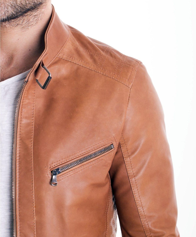 giacca-in-pelle-modello-biker-con-fibbia-al-collo-e-carre-slim-fit-cuoio-daniel- (1)