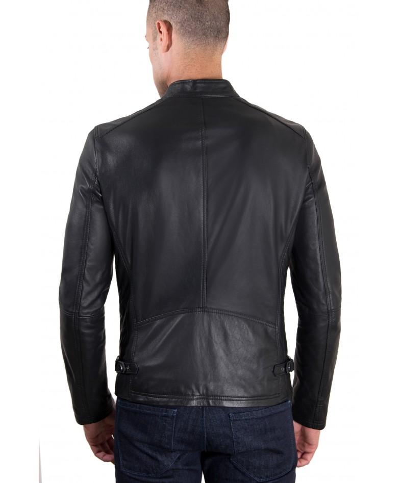 giacca-in-pelle-modello-biker-con-fibbia-al-collo-e-carre-slim-fit-nera-daniel (3)