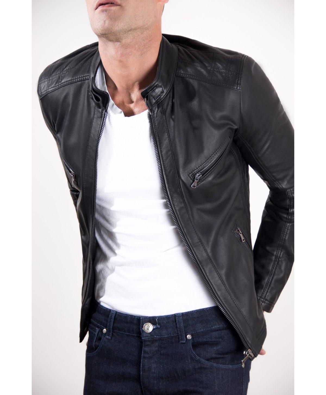 giacca-in-pelle-modello-biker-con-fibbia-al-collo-e-carre-slim-fit-nera-daniel (4)