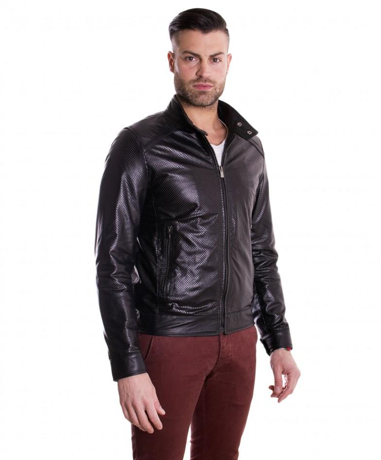 giacca-in-pelle-traforata-da-uomo-modello-biker-collo-mao-colore-nero-emiliany (2)