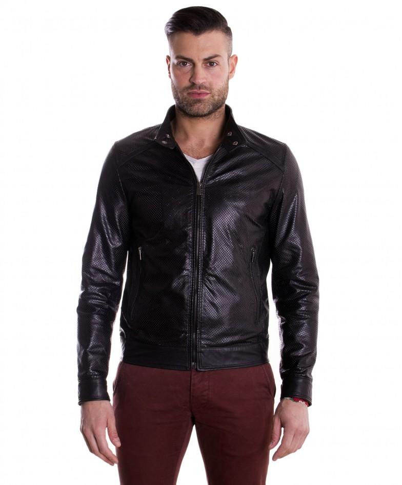 giacca-in-pelle-traforata-da-uomo-modello-biker-collo-mao-colore-nero-emiliany