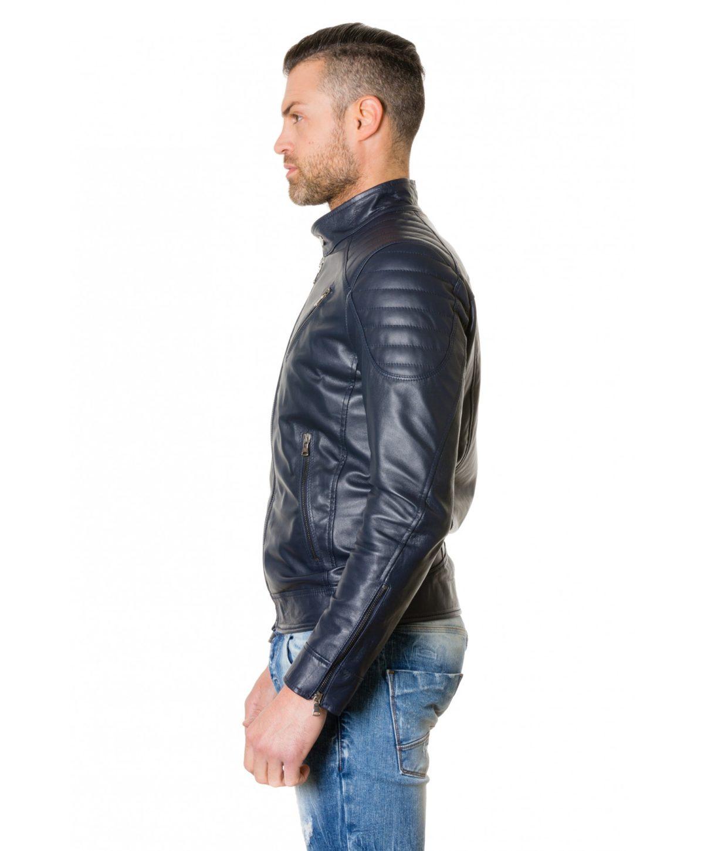 giacca-in-pelle-uomo-trapuntata-vera-pelle-di-agnello-biker-colore-nero-u411 (3)