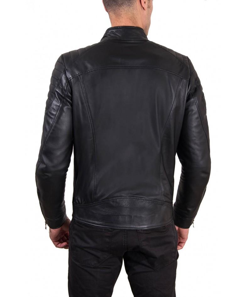 giacca-in-pelle-uomo-trapuntata-vera-pelle-di-agnello-biker-colore-nero-u411 (4)