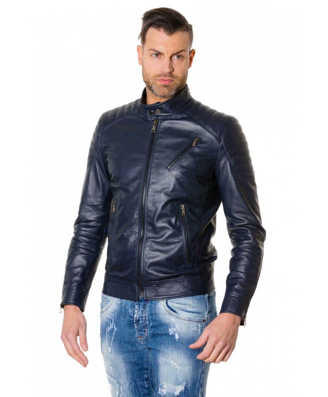 giacca-in-pelle-uomo-trapuntata-vera-pelle-di-agnello-biker-colore-nero-u411
