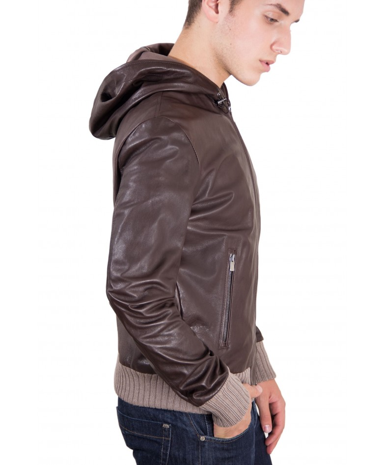 leather-jacket-with-hood-and-soft-lamb-leather-contrasting-wool-dark-brown-color-biancolino (1)