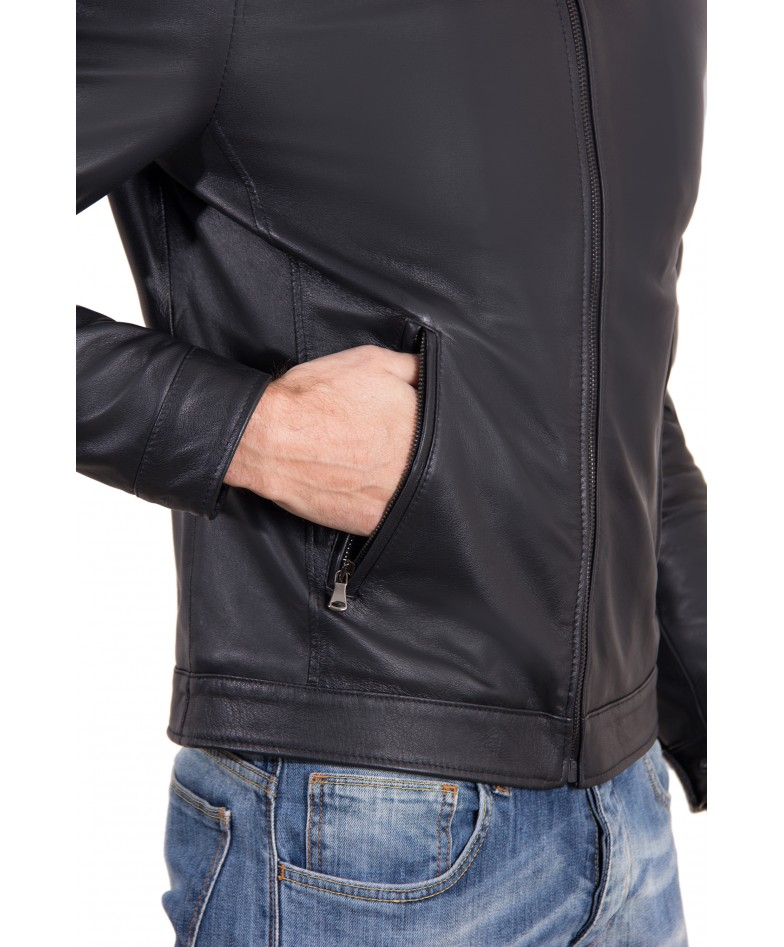leo-black-color-nappa-lamb-leather-jacket-shirt-collar (1)