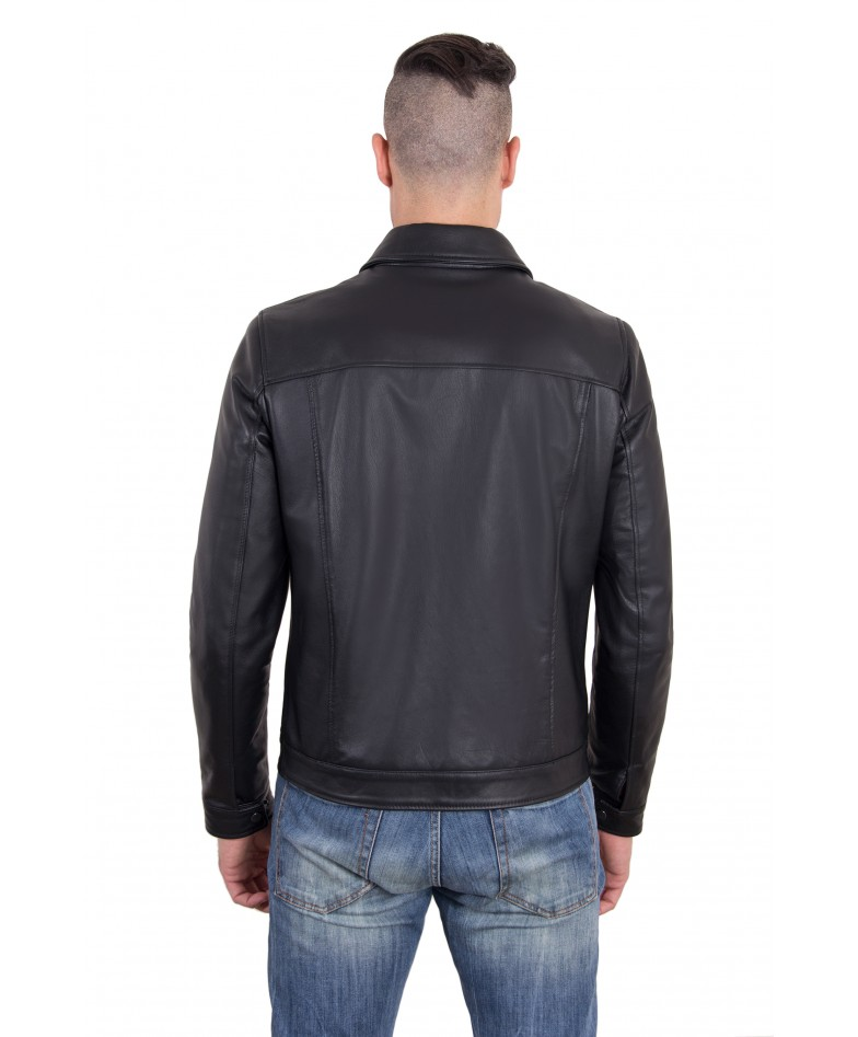 leo-black-color-nappa-lamb-leather-jacket-shirt-collar (4)