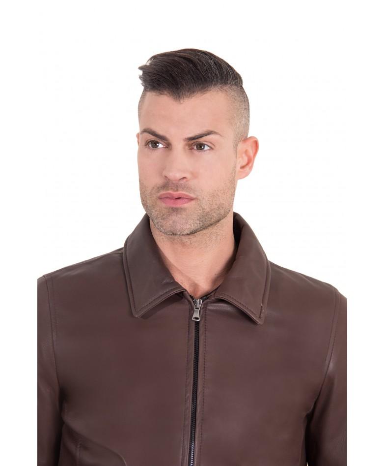 leo-dark-brown-color-nappa-lamb-leather-jacket-shirt-collar (1)