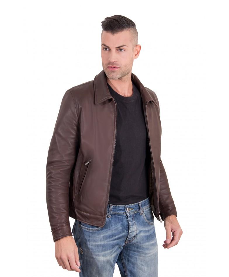 leo-dark-brown-color-nappa-lamb-leather-jacket-shirt-collar (4)