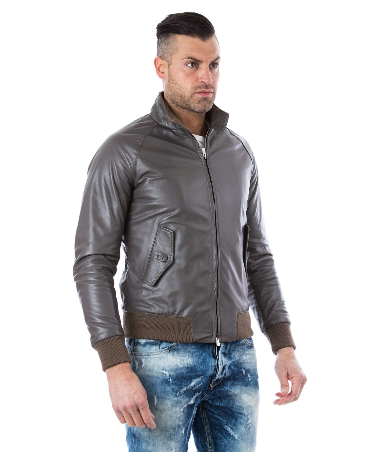 man-leather-jacket-lamb-leather-style-bomber-central-zip-black-color-br (1)
