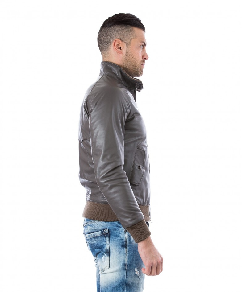man-leather-jacket-lamb-leather-style-bomber-central-zip-black-color-br (2)