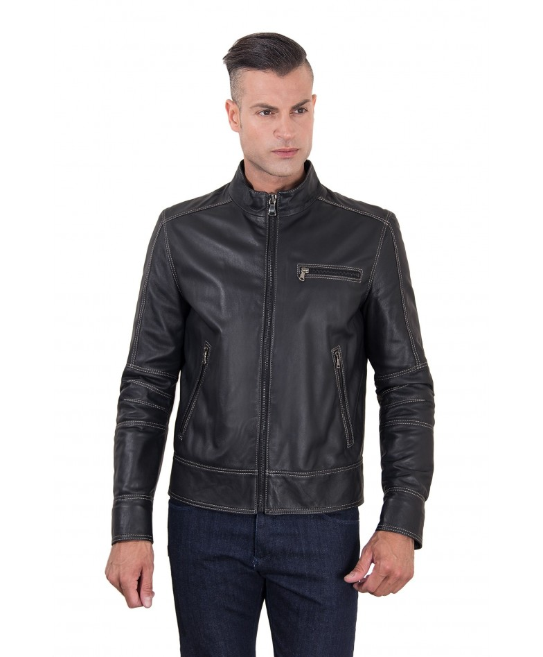 men-s-leather-jacket-constrasting-stitching-three-pockets-black-color-trus