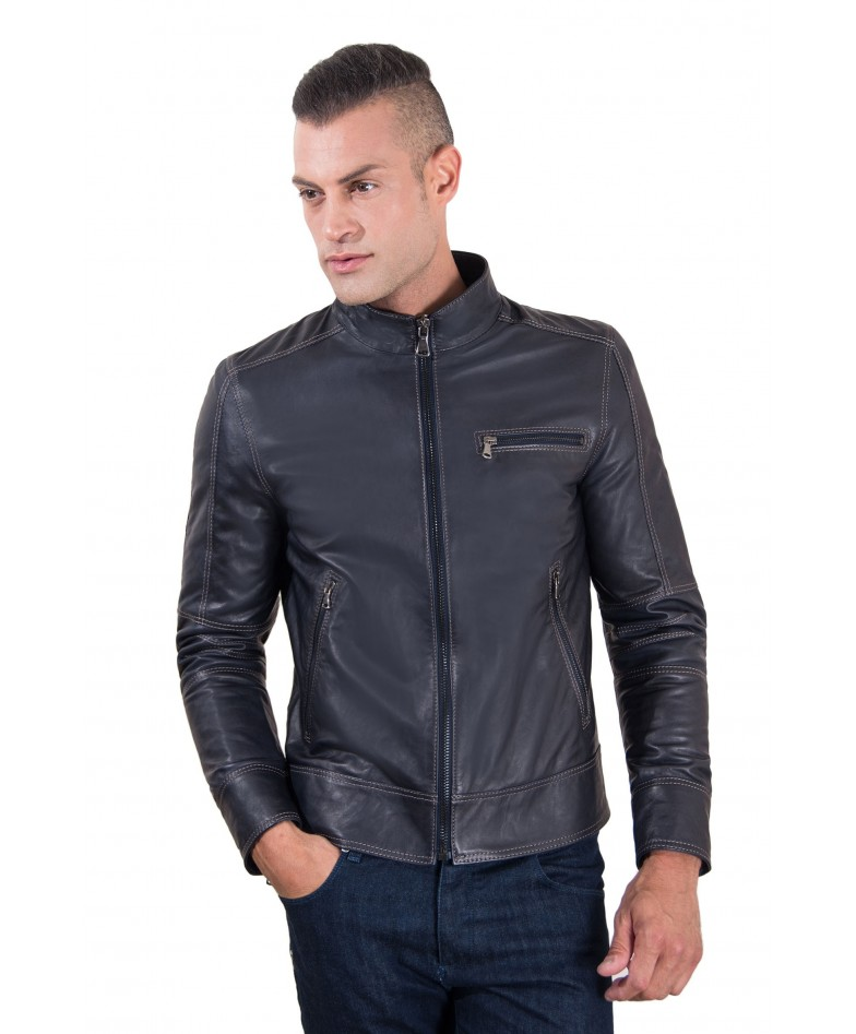 men-s-leather-jacket-constrasting-stitching-three-pockets-blue-color-trus