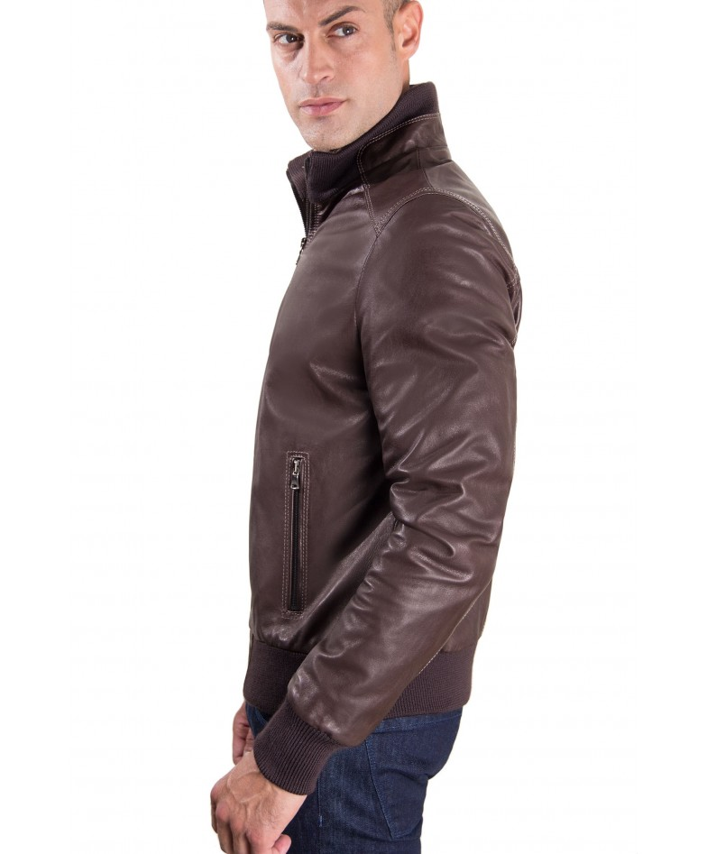 men-s-leather-jacket-contrasting-stitching-style-bomber-dark-brown-color-bomber (3)