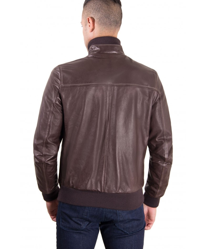 men-s-leather-jacket-contrasting-stitching-style-bomber-dark-brown-color-bomber (4)