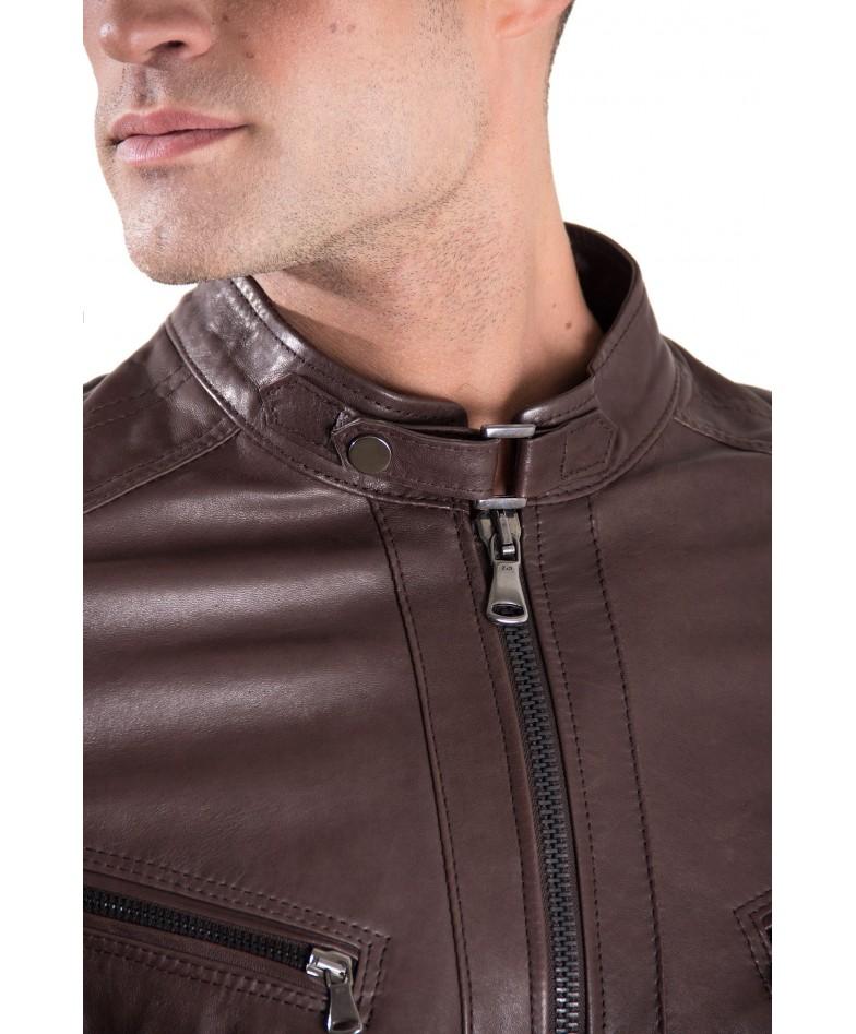 men-s-leather-jacket-genuine-soft-lamb-leather-quilted-yoke-on-shoulder-brown-color-daniel (5)