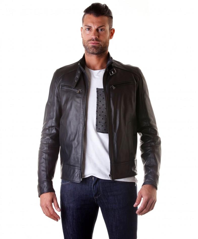 men-s-leather-jacket-genuine-soft-leather-biker-buckle-collar-black-color-modmax (4)