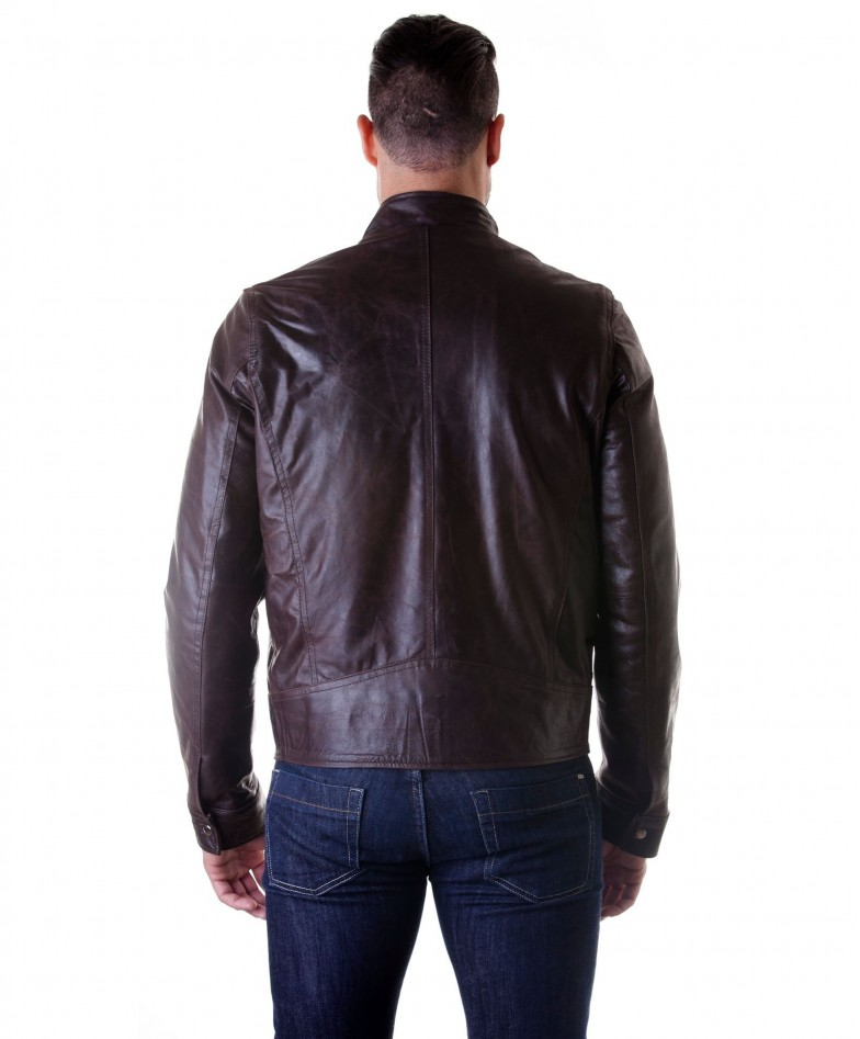 men-s-leather-jacket-genuine-soft-leather-biker-buckle-collar-dark-brown-color-modmax (3)