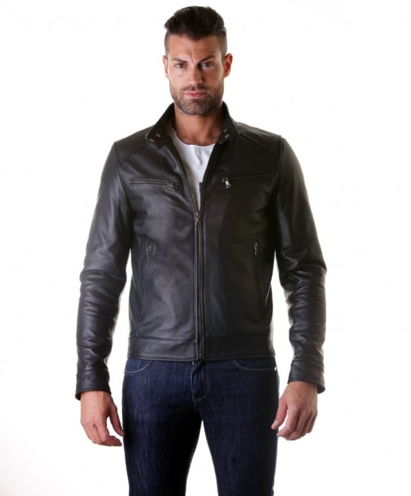 men-s-leather-jacket-genuine-soft-leather-biker-mao-collar-mao-black-color-hamilton (4)
