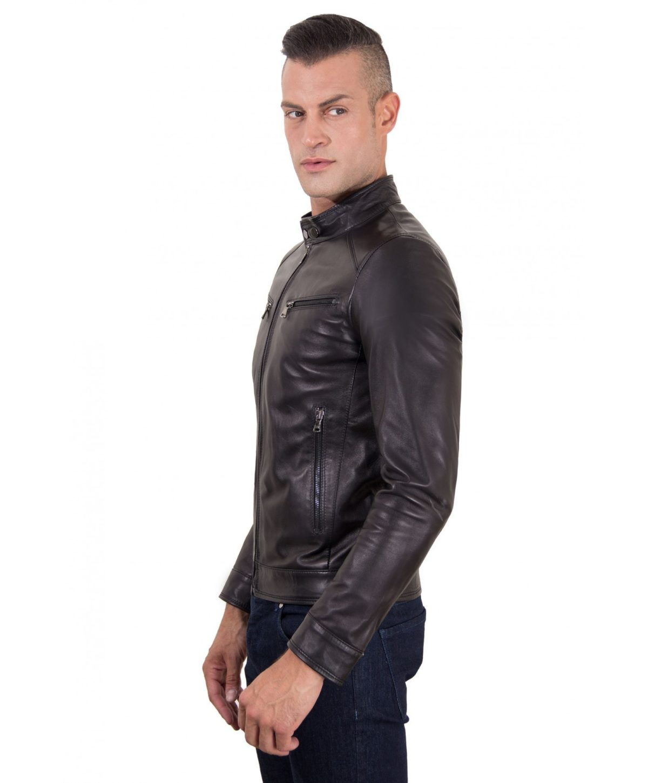 men-s-leather-jacket-genuine-soft-leather-biker-mao-collar-mao-black-color-hamilton3