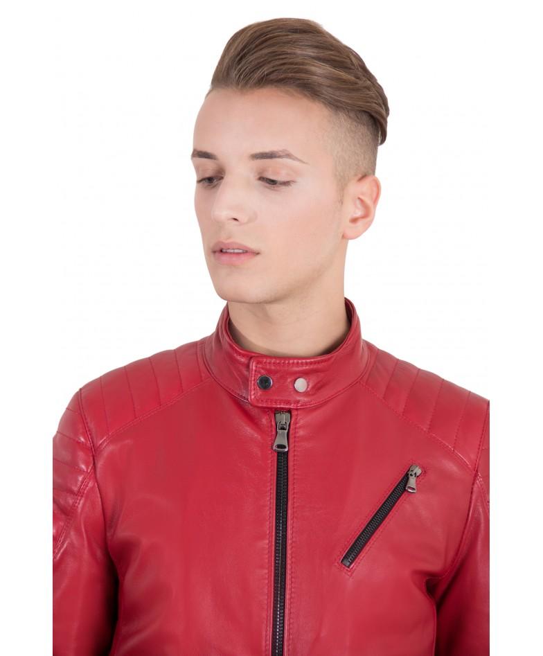 men-s-leather-jacket-genuine-soft-leather-biker-quilted-yoke-red-color-u411 (1)