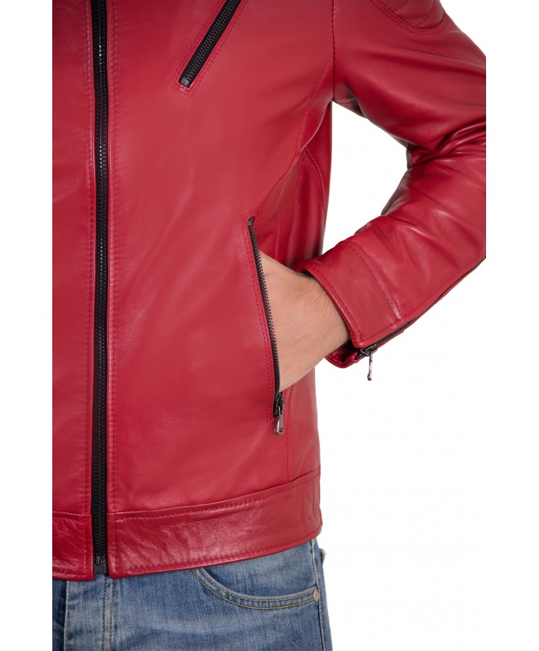 men-s-leather-jacket-genuine-soft-leather-biker-quilted-yoke-red-color-u411 (2)