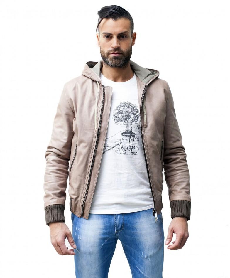 men-s-leather-jacket-genuine-soft-leather-hood-bomber-central-zip-beige-color-u408 (1)