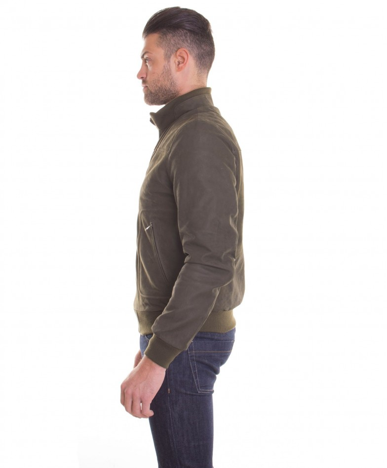 men-s-leather-jacket-genuine-soft-leather-nabuk-style-bomber-wool-cuffs-and-bottom-central-zip-green-color-mod-alex (2)