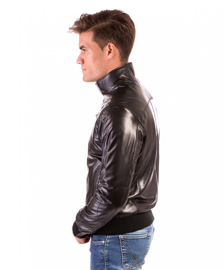 men-s-leather-jacket-genuine-soft-leather-style-bomber-bicolor-wool-cuffs-and-bottom-one-zip-pocket-black-color-thil (2)