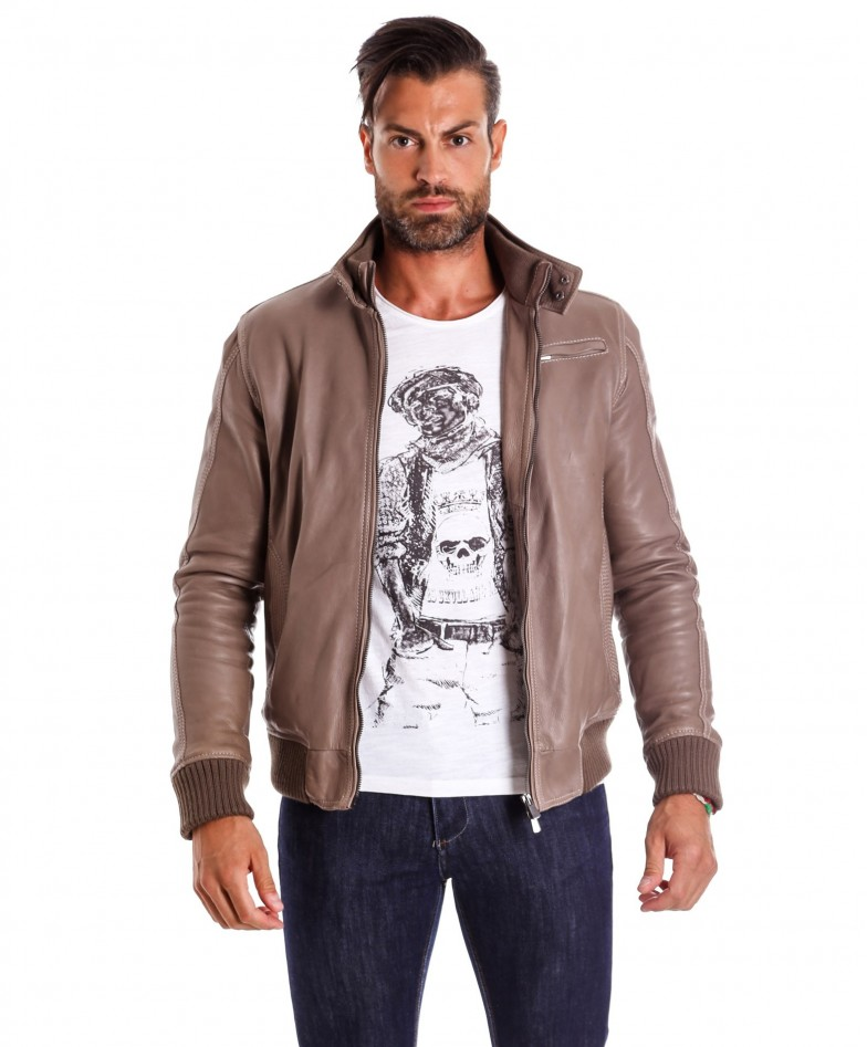 men-s-leather-jacket-genuine-soft-leather-style-bomber-bicolor-wool-cuffs-and-bottom-one-zip-pocket-light-grey-color-thil (3)