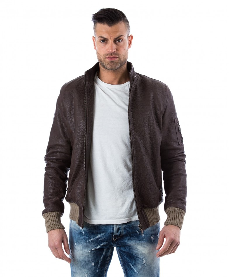 men-s-leather-jacket-genuine-soft-leather-style-bomber-central-zip-green-color-bomber (1)