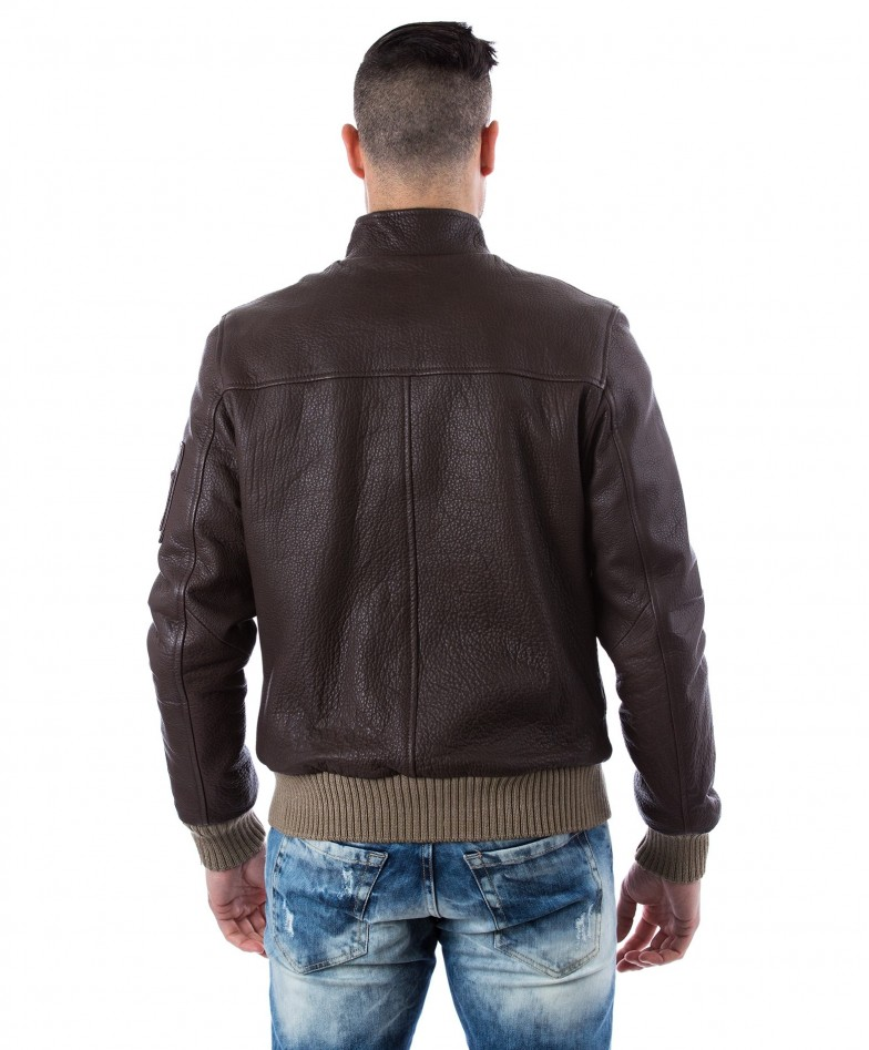 men-s-leather-jacket-genuine-soft-leather-style-bomber-central-zip-green-color-bomber (3)