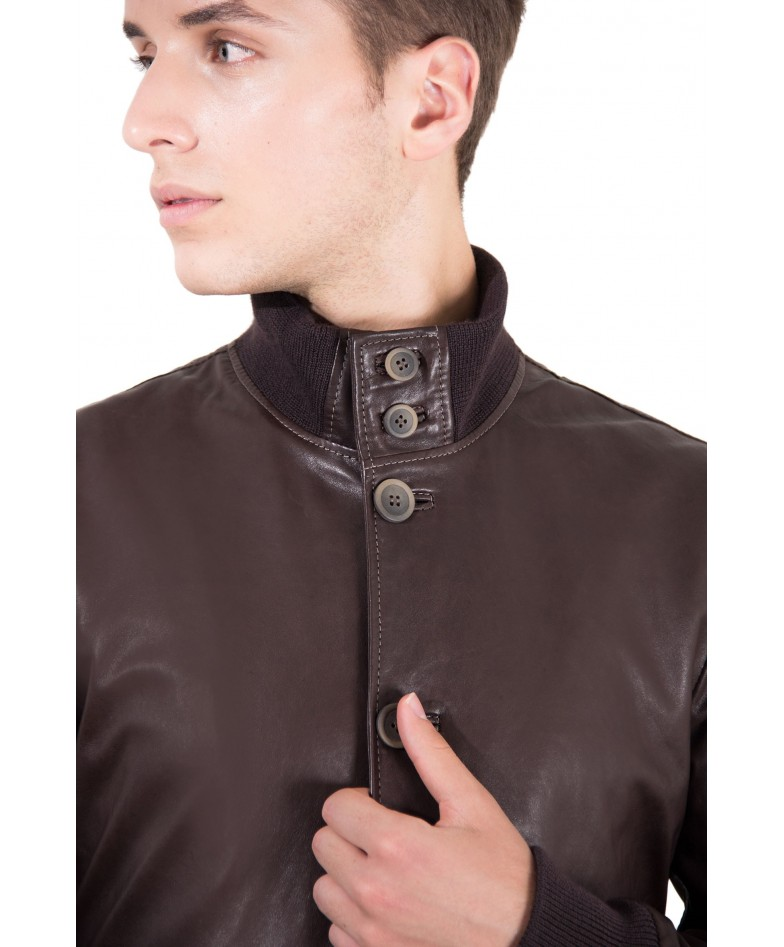 men-s-leather-jacket-genuine-soft-leather-style-bomber-wool-cuffs-and-bottom-buttons-closing-dark-brown-color-alex-bottoni (1)