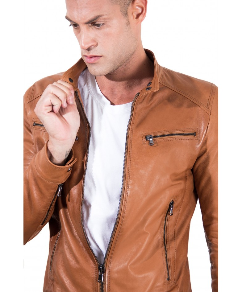 men-s-leather-jacket-korean-collar-four-pockets-green-color-hamilton (1)