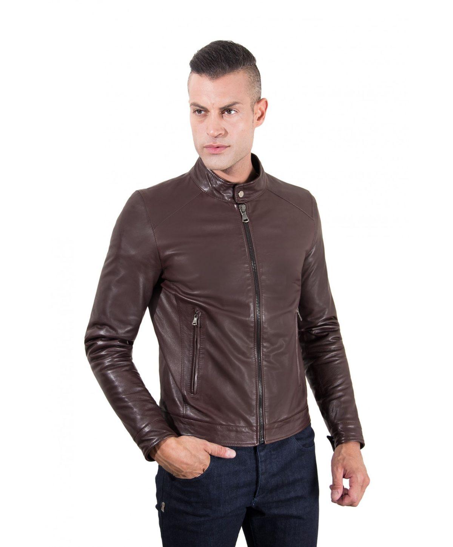 men-s-leather-jacket-korean-collar-two-pockets-dark-brown-color-hamilton