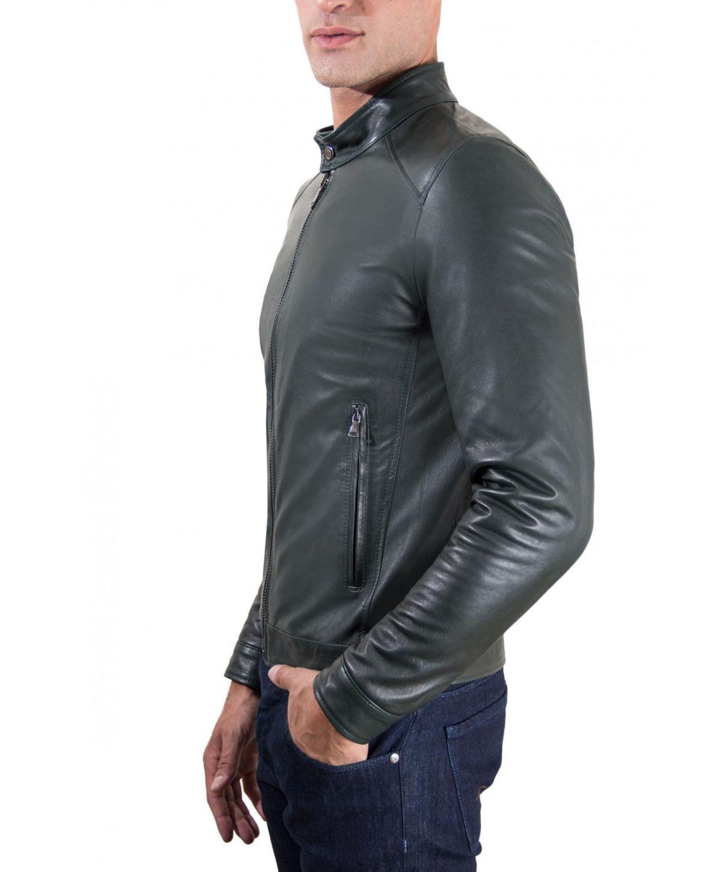 men-s-leather-jacket-korean-collar-two-pockets-green-color-hamilton (4)