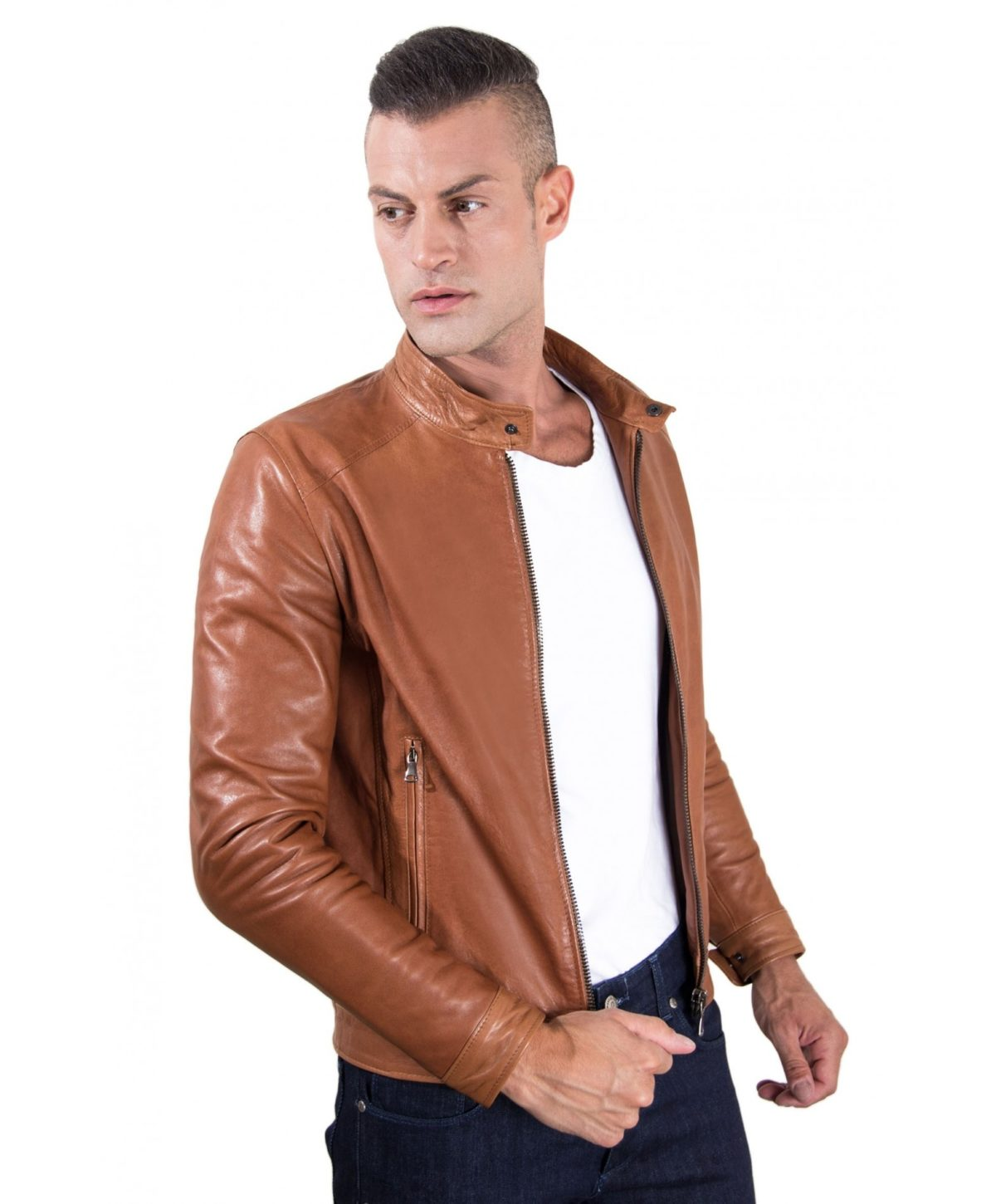 men-s-leather-jacket-korean-collar-two-pockets-tan-color-hamilton (2)