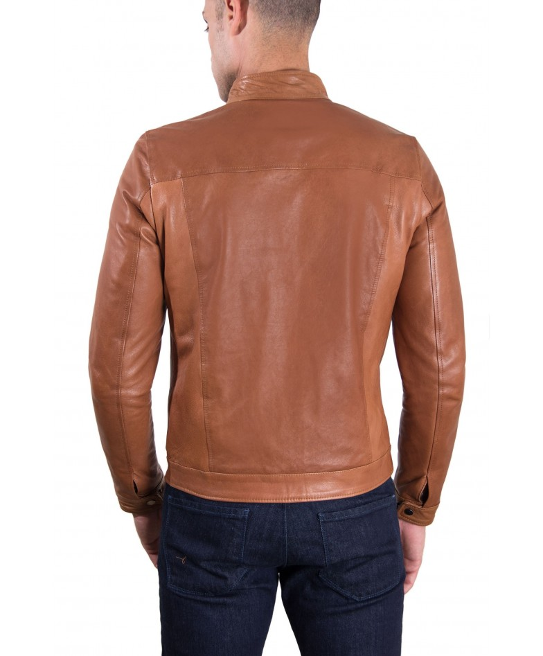 men-s-leather-jacket-korean-collar-two-pockets-tan-color-hamilton (4)